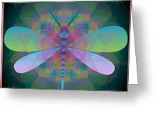 Dragonfly 2013 Greeting Card