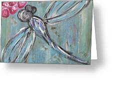 Dragonfly Baby Greeting Card