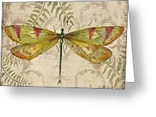 Dragonfly Daydreams-a Greeting Card