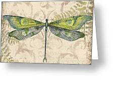 Dragonfly Daydreams-c Greeting Card