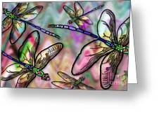 Dragonfly Land Greeting Card