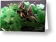 Dragon's Hoard  Greeting Card