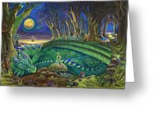 Dragon's Slumber  Greeting Card