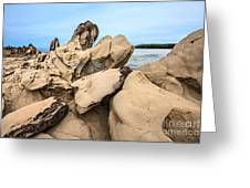 Dragon's Teeth Closeup Greeting Card