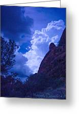 Drama Sky Sedona Greeting Card