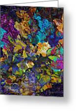 Dramatic Blooms 01 Greeting Card