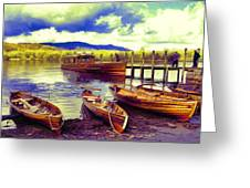Dramatic Derwent Greeting Card