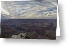 Dramatic Grand Canyon Sunset Greeting Card