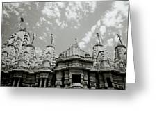 The Jain Temples Greeting Card