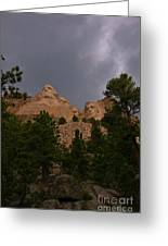 Dramatic Rushmore Greeting Card