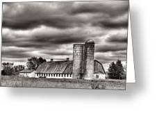 Dramatic Skies  Greeting Card by JC Findley