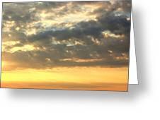 Dramatic Sunglow Greeting Card
