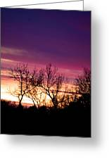Dramatic Sunrise-l Greeting Card