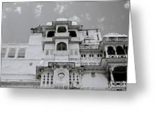 Dramatic Udaipur Greeting Card