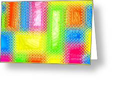 Drastic Plastic Greeting Card by Cristophers Dream Artistry