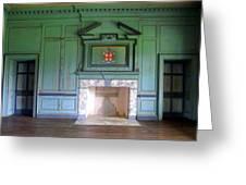 Drayton Hall Interior 3 Greeting Card