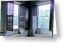 Drayton Interior Window 2 Greeting Card