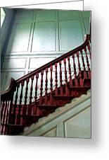 Drayton Staircase 1 Greeting Card