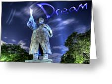 Dream Greeting Card by Andrew Nourse