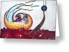 Dream Greeting Card by Belen Jauregui