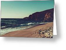 Dream By The Sea Greeting Card