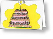 Dream Cake Greeting Card