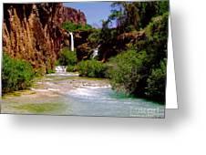 Dream Canyon Greeting Card