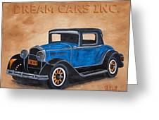 Dream Cars Inc. Greeting Card