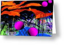 Dream City Greeting Card