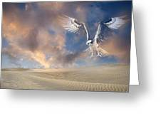 Dream Hawk Greeting Card