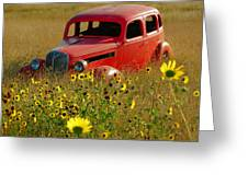Dream Left Behind Greeting Card