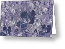 Dream On In Purple Greeting Card