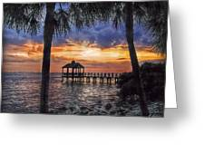 Dream Pier Greeting Card