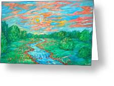 Dream River Greeting Card