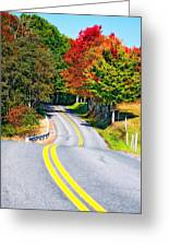 Dream Road Greeting Card