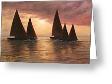 Dream Sails Greeting Card