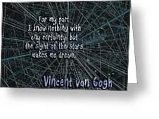 Dream Stars Greeting Card