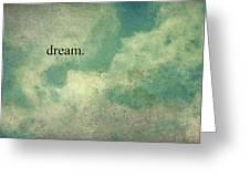 Dream Vintage Sky Pattern Greeting Card