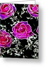 Dream With Roses Greeting Card