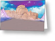 Dreaming Landscape Greeting Card by Augusta Stylianou