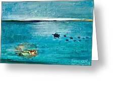 Dreaming Mermaid Greeting Card