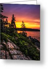 Dreaming Of Acadia Greeting Card