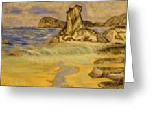 Dreaming Of Beaches Greeting Card