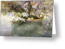 Dreaming Of Forget-me-nots Greeting Card