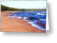 Dreaming Of Lake Superior Greeting Card
