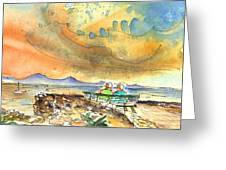 Dreaming Of Sailing In Lanzarote Greeting Card