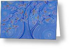 Dreaming Tree By Jrr Greeting Card
