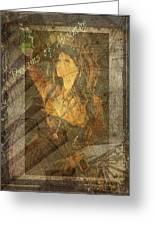 Dreams Of Absinthe - Steampunk Greeting Card