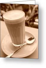 Dreams Of Coffee  Greeting Card