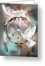 Dreams Of Peace Greeting Card